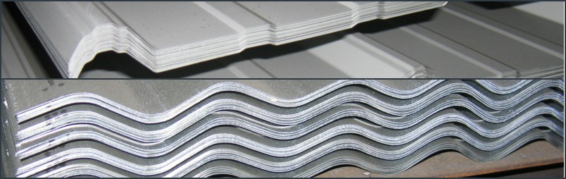 Roofing/Siding & Flashing Corrugated Iron, Tenneseal Low Rib Metal Building Panel, Panel Trim