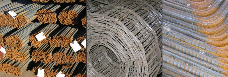 Reinforcing Materials Rebar, Remesh, Anchor Bolts,  Expansion Joints, Bar Ties